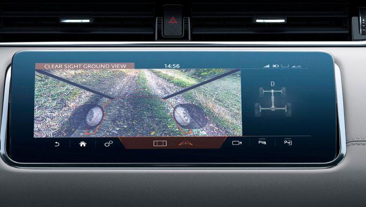 Autogramm Range Rover Evoque: Für Durchblicker