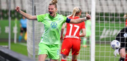 Champions League: VfL Wolfsburg dank Alexandra Popp vor Einzug ins Halbfinale
