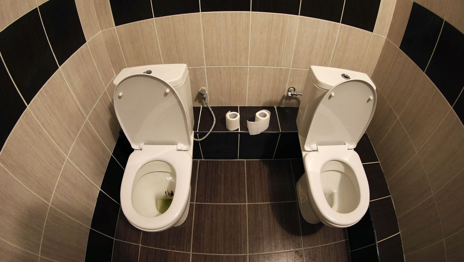 Zwillingstoilette in Sotschi: Keine Spur davon im Hotel des Autors