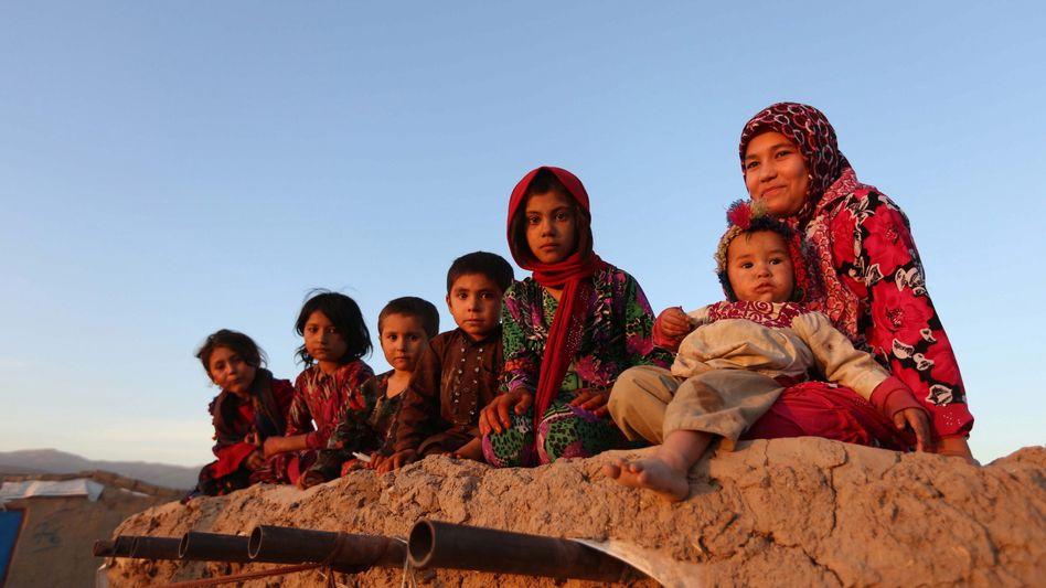 Binnenflüchtlinge in Afghanistan