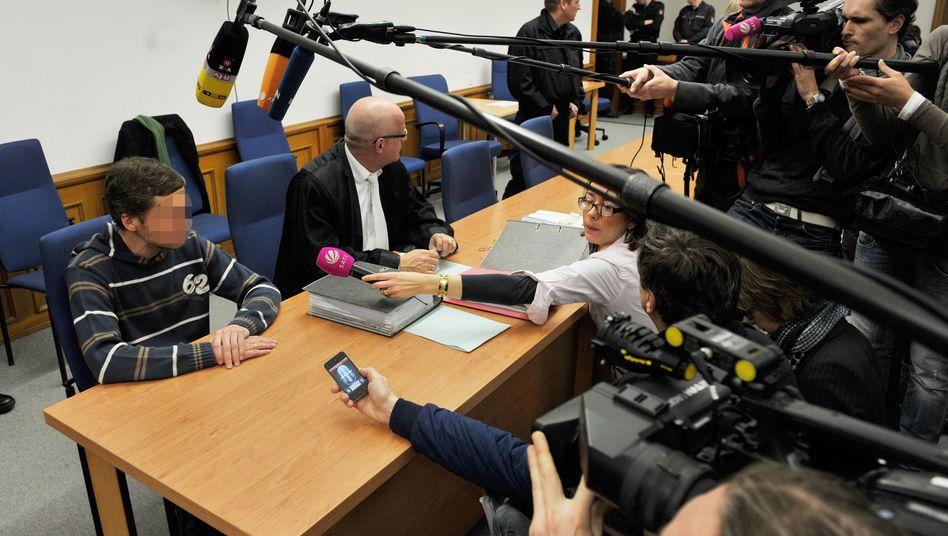Axel H. vor dem Landgericht Lüneburg: Vom gläubigen zum radikalen Christen gewandelt