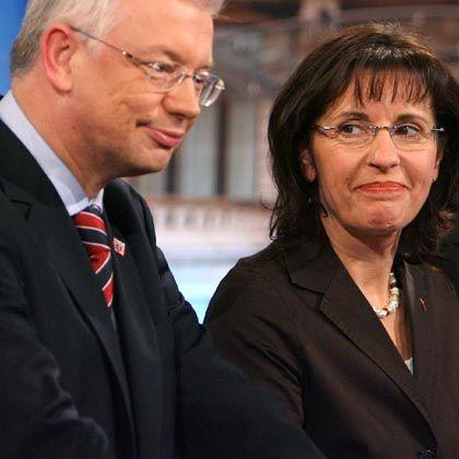 Koch und Ypsilanti: Bald Große Koalition in Hessen?