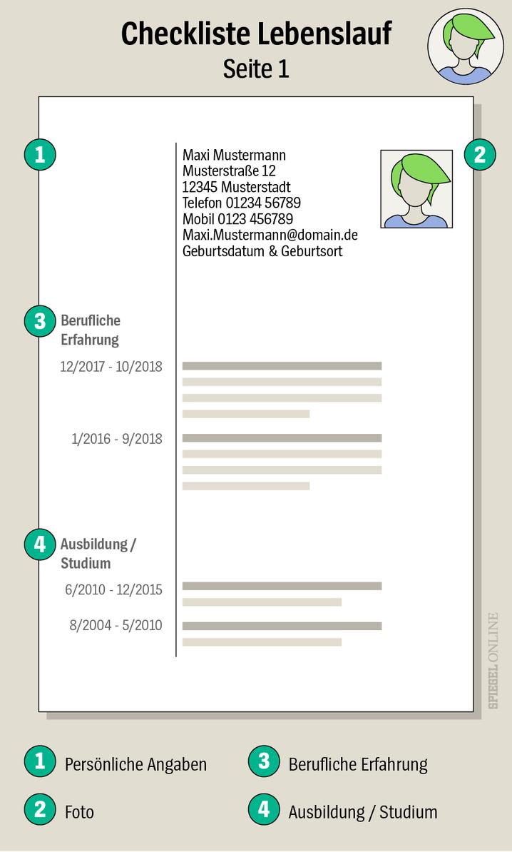 Lebenslauf Muster 48 Kostenlose Vorlagen