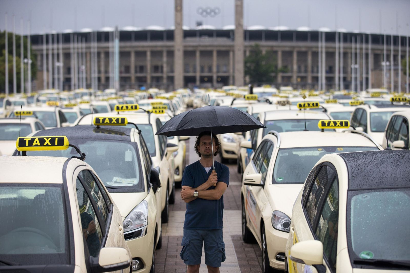 PROTESTS-TAXIS/