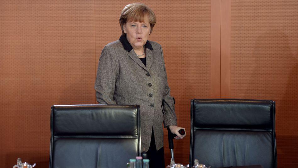 Kanzlerin Merkel: Ärger über EU-Beschimpfung