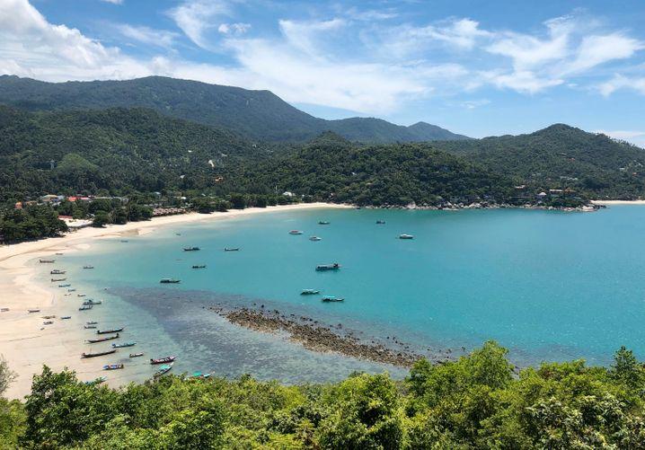 Koh Phangan: Legendär sind auch die »Full Moon Partys« am Strand von Haad Rin