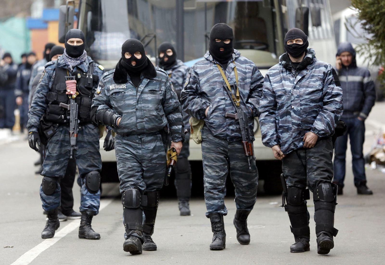 Ukraine / Berkut-Einheiten