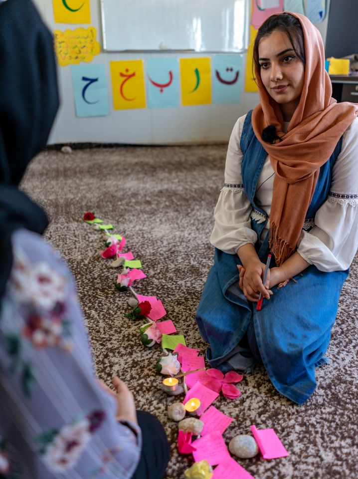 The 22-year-old Yasa Ismail is an aspiring psychotherapist.