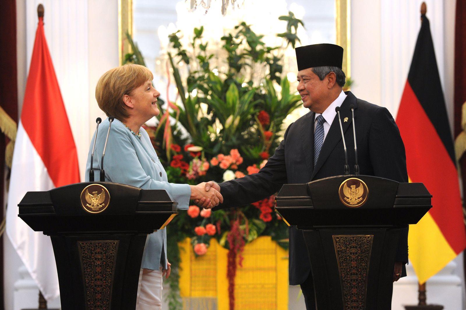 Merkel/ Yudhoyono