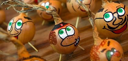 Lachende Zwiebeln: Viele, gute Häute