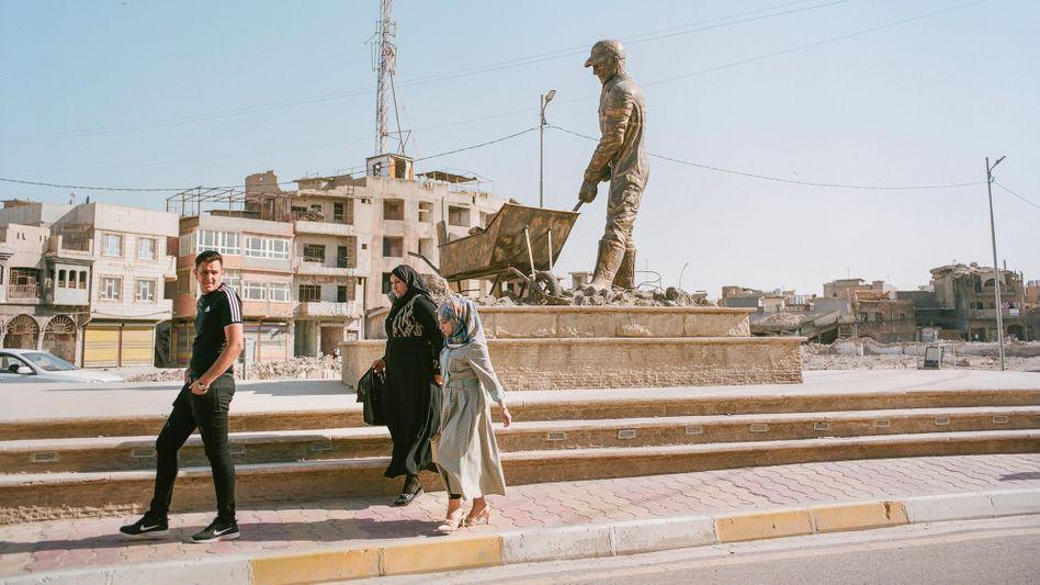 Mossul: Viele Häuser und Kulturstätten wurden im Krieg zerstört