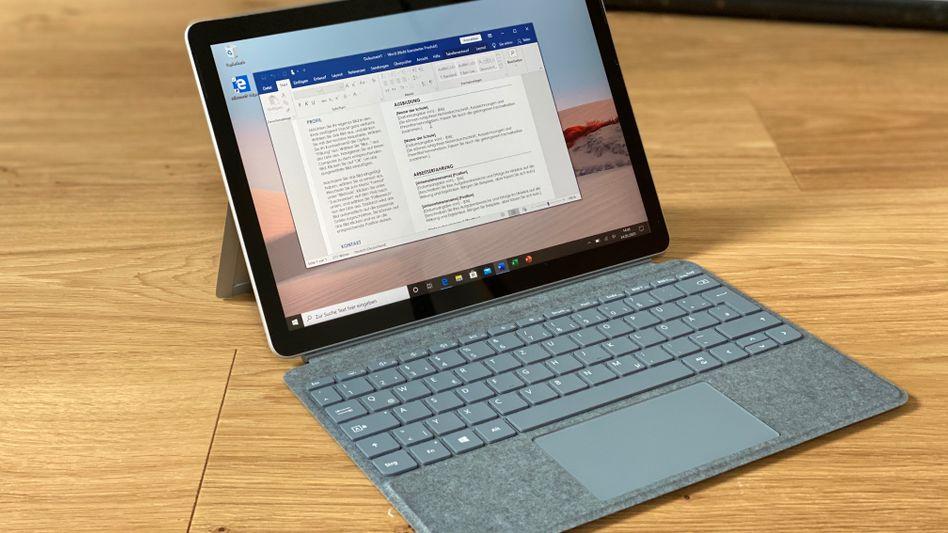Das neue Microsoft-Tablet: Richtig gut wird es mit der optionalen Tastatur