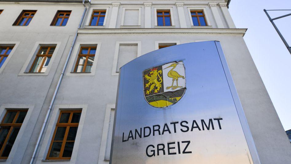 Landratsamt in Greiz: Kreis in Thüringen bleibt Brennpunkt neuer Corona-Infektionen