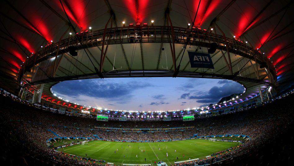 WM-Stadion (in Rio de Janeiro 2014): Sponsoren zeigen sich enttäuscht