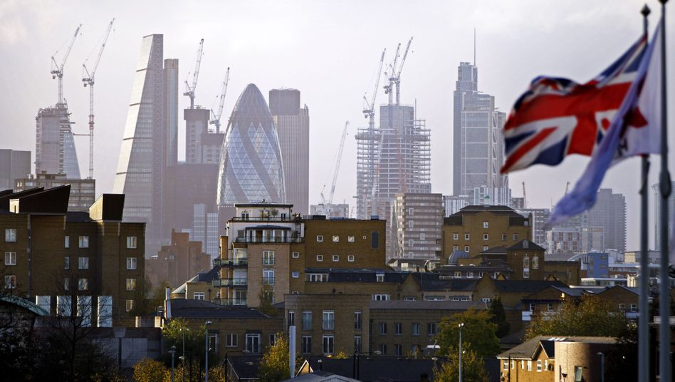 Londoner City: Das Land hat mehr Schulden als die jährliche Wirtschaftsleistung