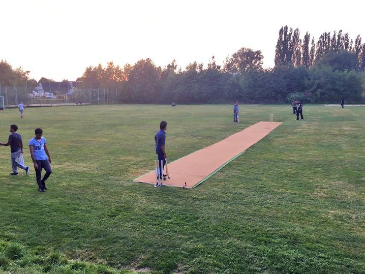 Etwas zurückgeben: Das neue Bautzener Cricket-Team