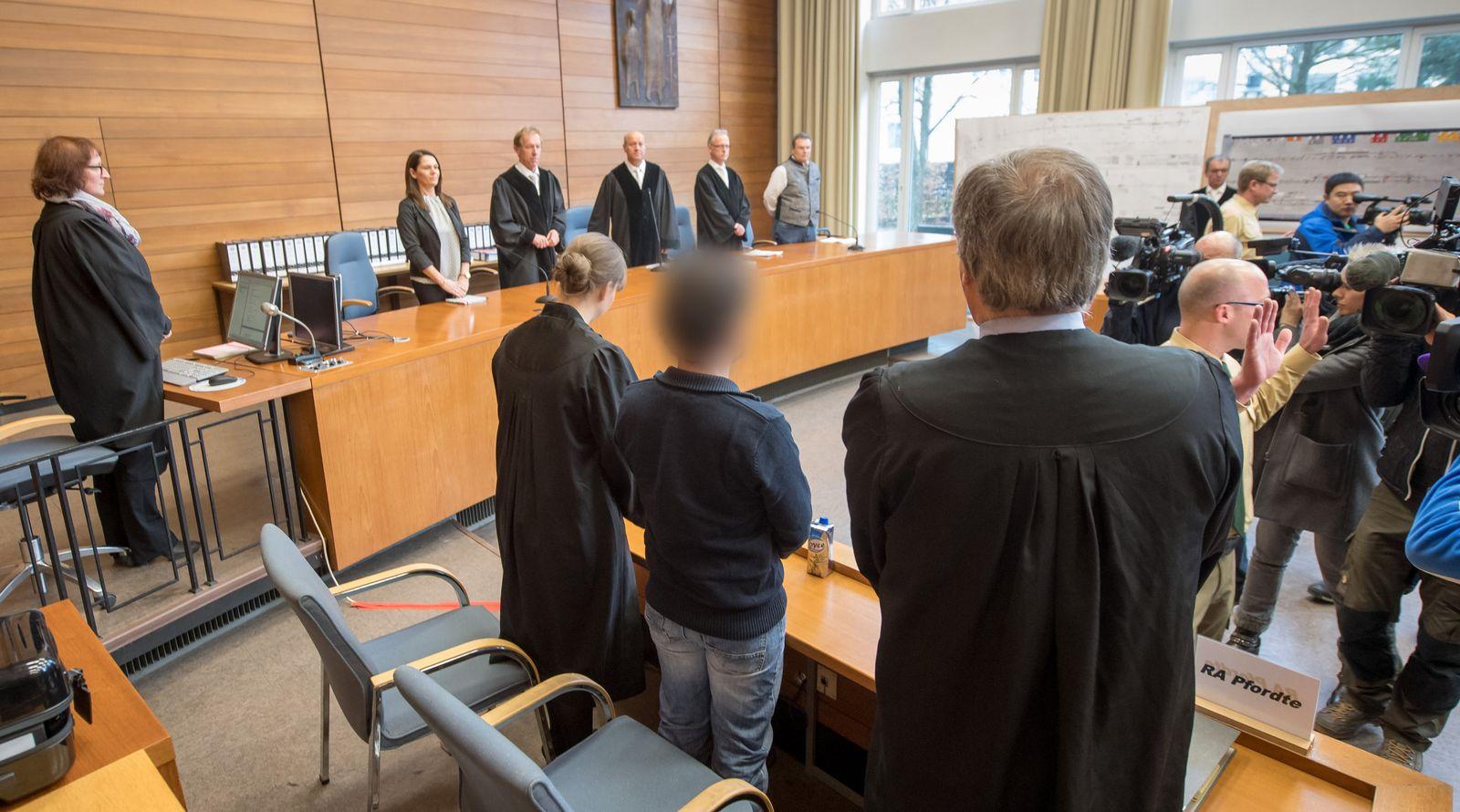 Urteilsverkündung Prozess Zugunglück Bad Aibling