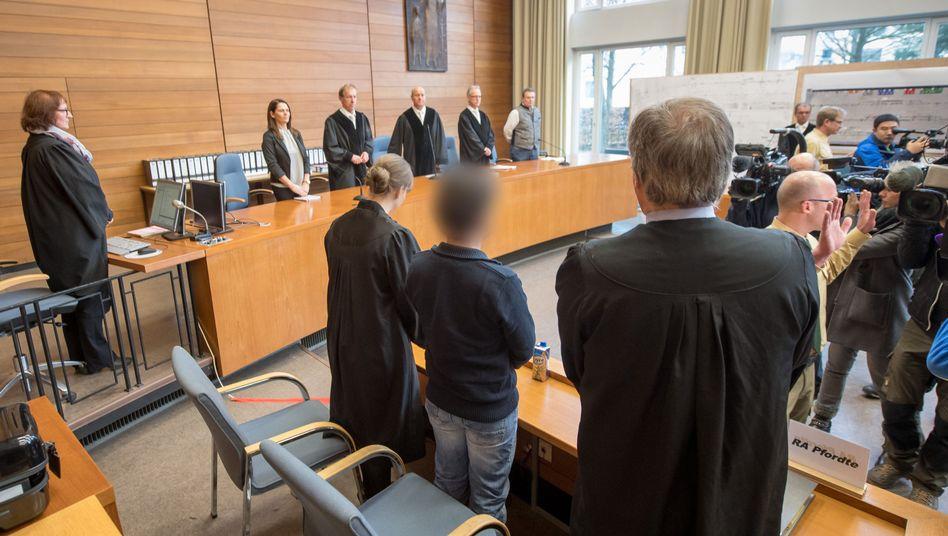 Urteilsverkündung vor dem Landgericht Traunstein