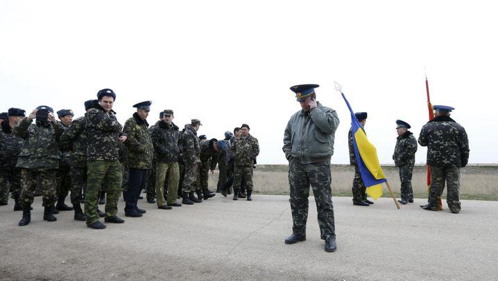 Krim: Ohne Waffen gegen die Russen