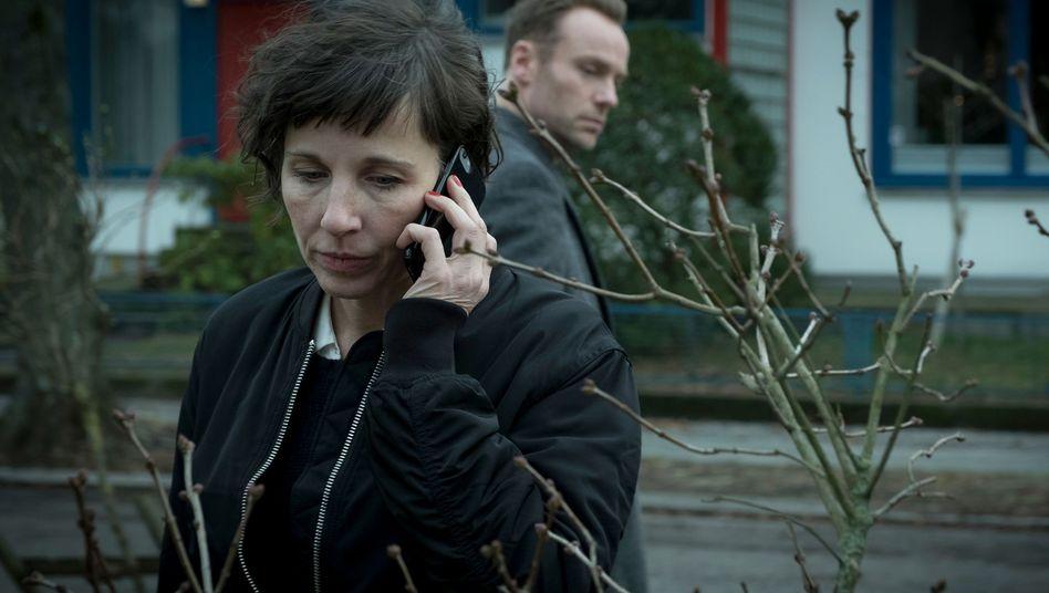 """Meret Becker als Kommissarin Rubin in der """"Tatort""""-Folge """"Tiere der Großstadt"""""""