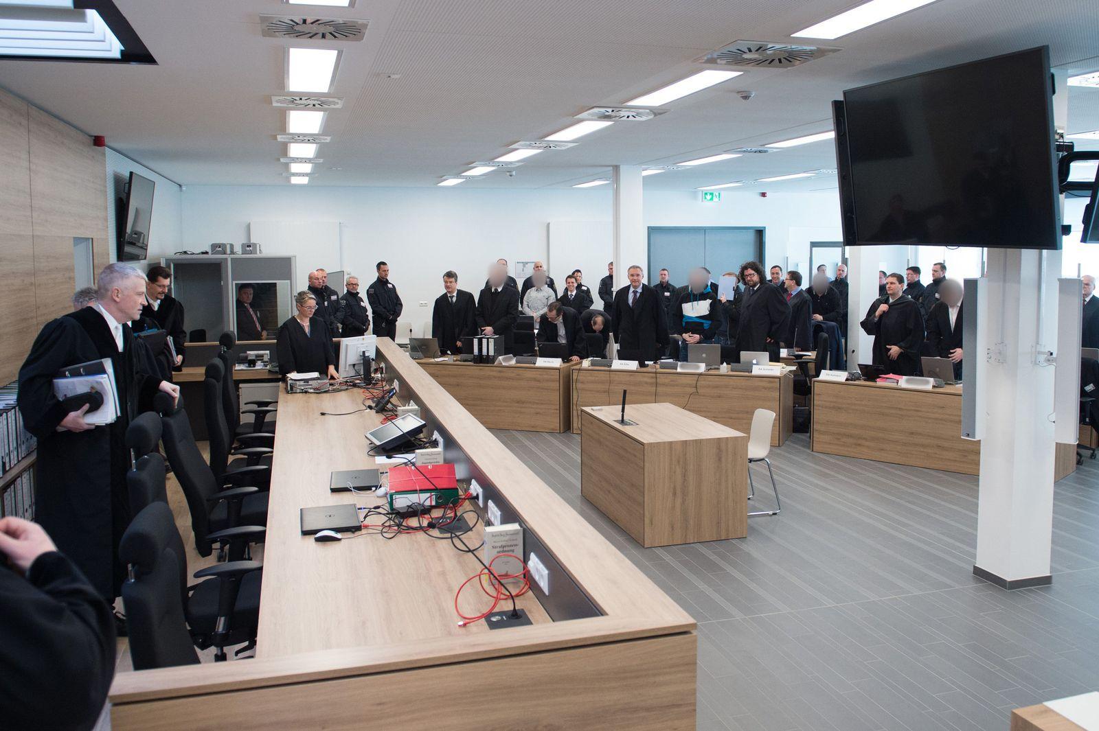 Prozess gegen die rechtsextreme «Gruppe Freital»