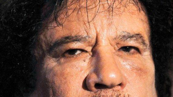 Libyscher Machthaber Gaddafi 2009