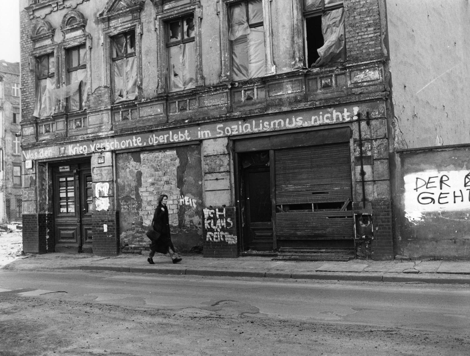 Berlin, Mulackstraße, Besetztes Haus