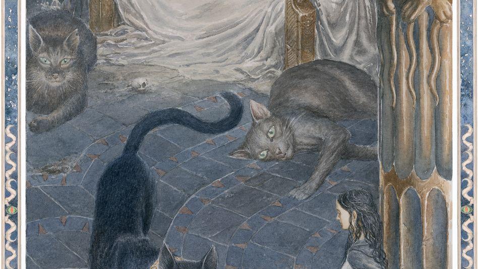 """Illustration aus """"Beren und Lúthien"""""""