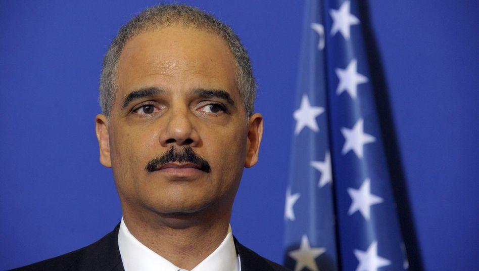 """US-Justizminister Eric Holder: """"Wir werden den Iran zur Verantwortung ziehen"""""""