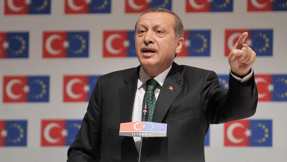 """Premierminister Erdogan: """"Diese Proteste müssen sofort aufhören"""""""