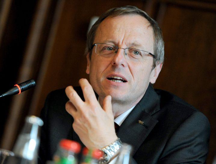 """Johann-Dietrich Wörner (im April 2014): """"Politisch hochsensible Frage"""""""