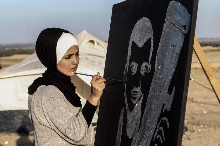 Gedenken an Murtaja in Rafah