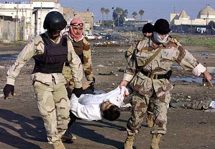 Mossul: Allein in der nordirakischen Stadt starben zehn irakische Nationalgardisten