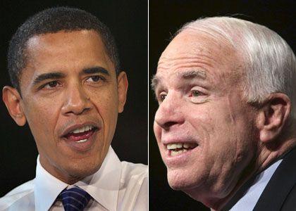 Kandidaten Obama, McCain: Deutlicher Vorsprung