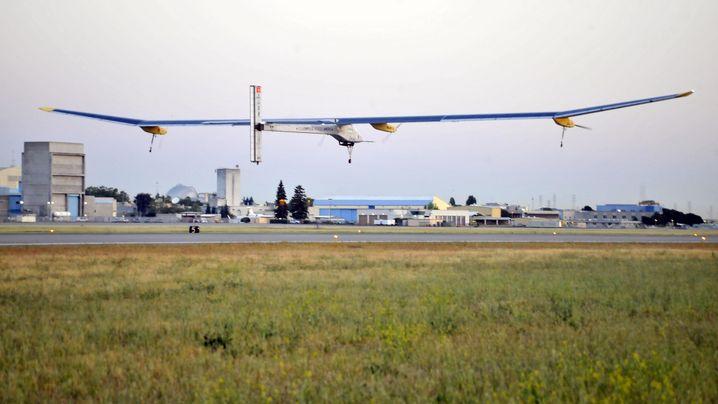 "Flugzeug ""Solar Impulse"": Quer durch Amerika"