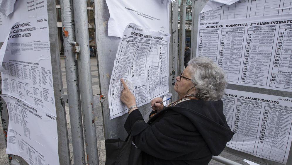 Parlamentswahl: Wechselstimmung in Athen