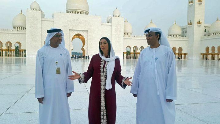 Miri Regev in Abu Dhabi