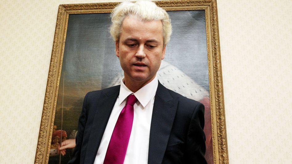 Rechtspopulist Geert Wilders: Nicht mehr so richtig siegesgewiss