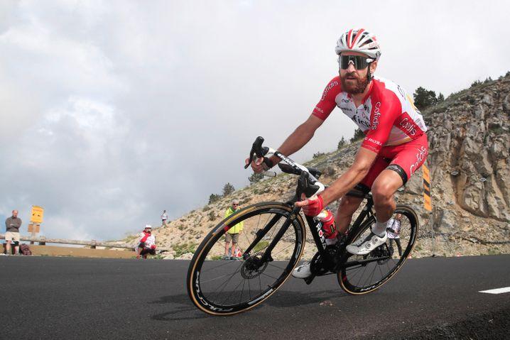 Simon Geschke bei der Tour de France Anfang Juli
