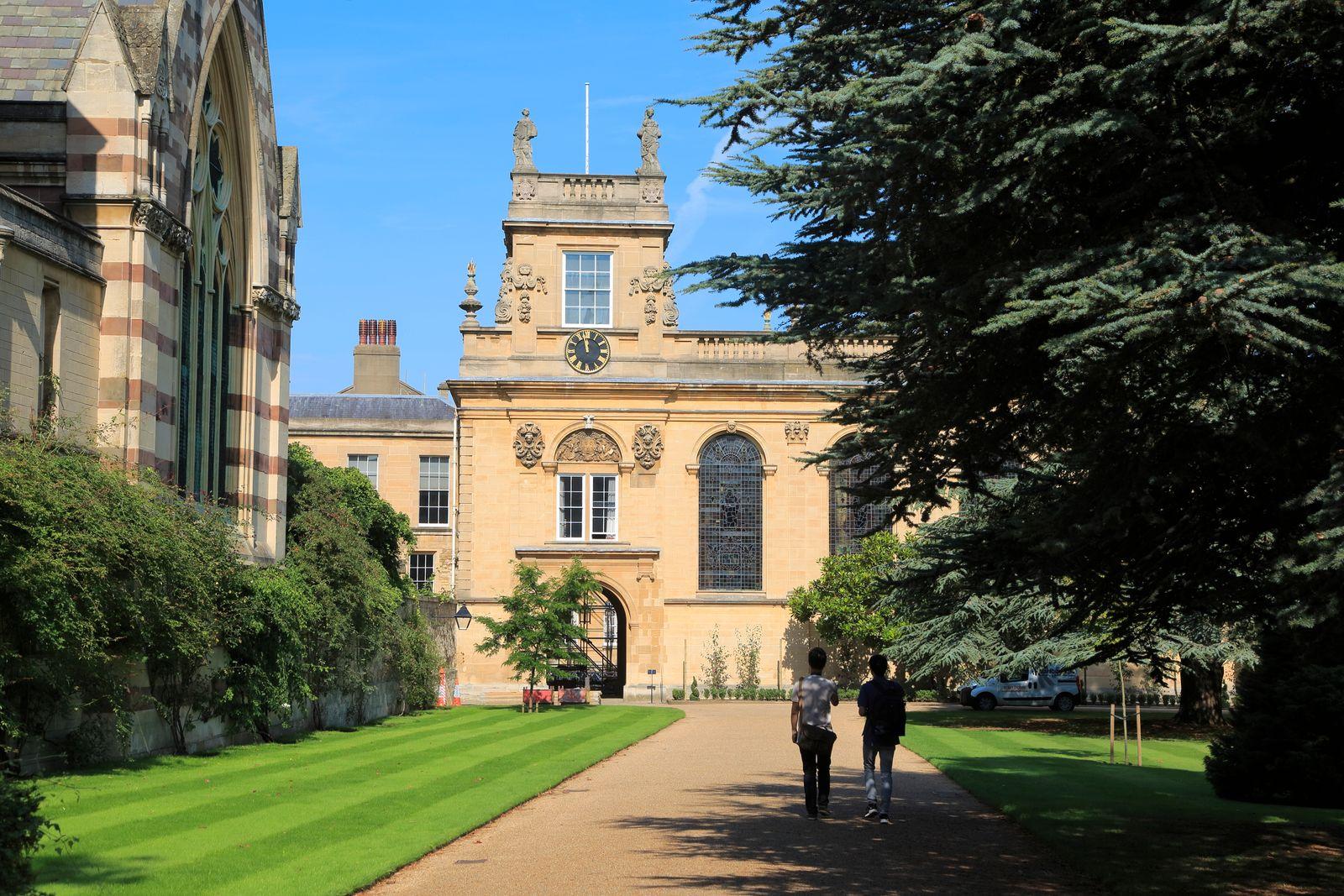Trinity College, University of Oxford, England, UK