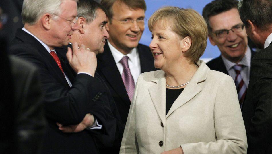 """Kanzlerin Merkel: """"Keine Garantie, dass es klappt"""""""