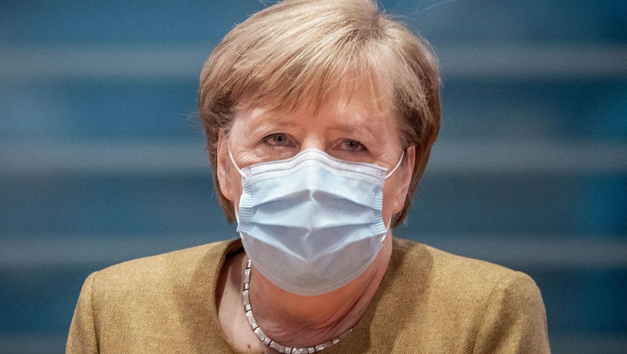Bundeskanzlerin Angela Merkel CDU: Bund und Länder einigen sich auf Verschärfung...