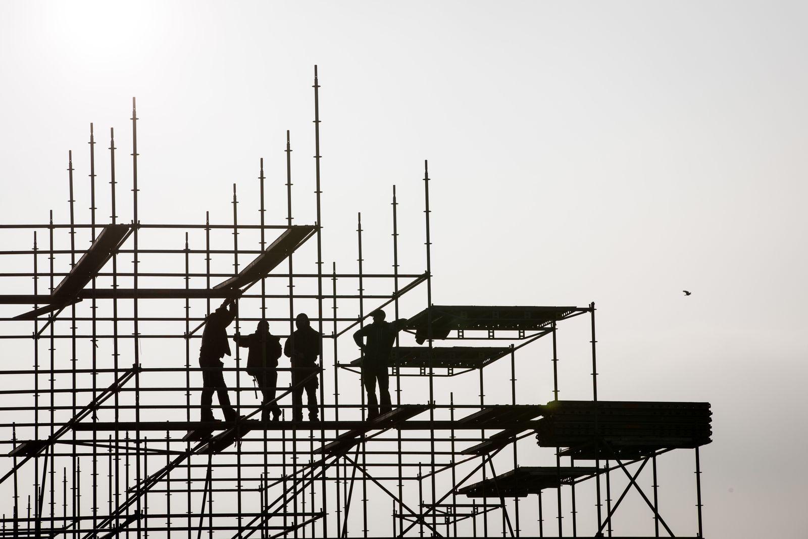 Niedriglohn/ Bauarbeiter