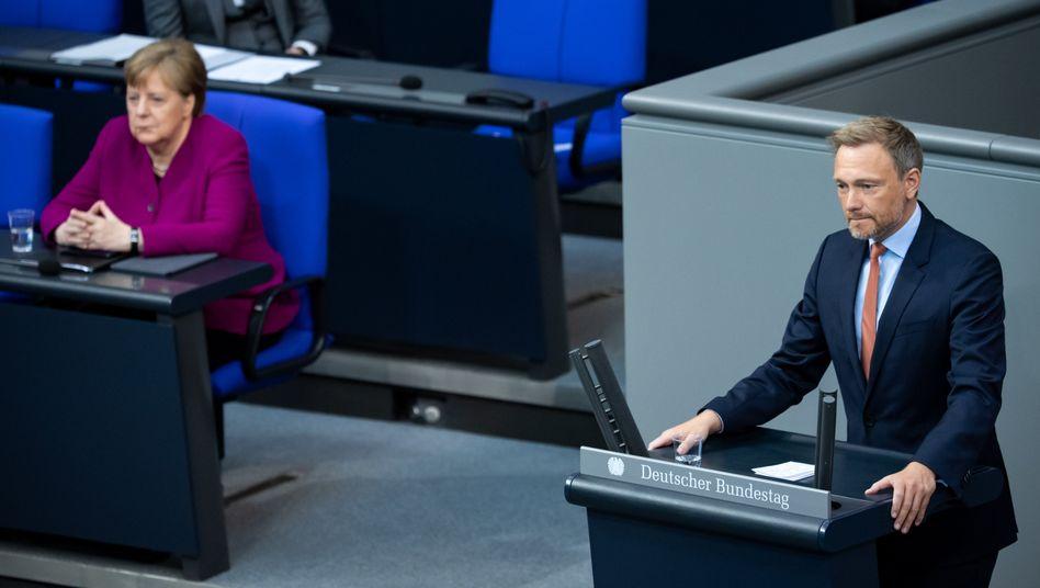 FDP-Chef Christian Lindner: Schwierige Lage