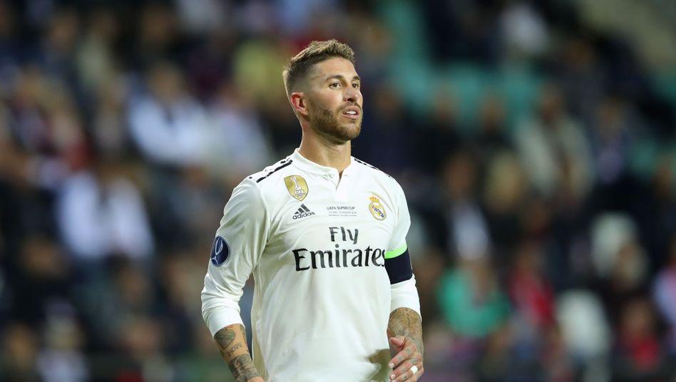 Real-Madrid-Kapitän Sergio Ramos
