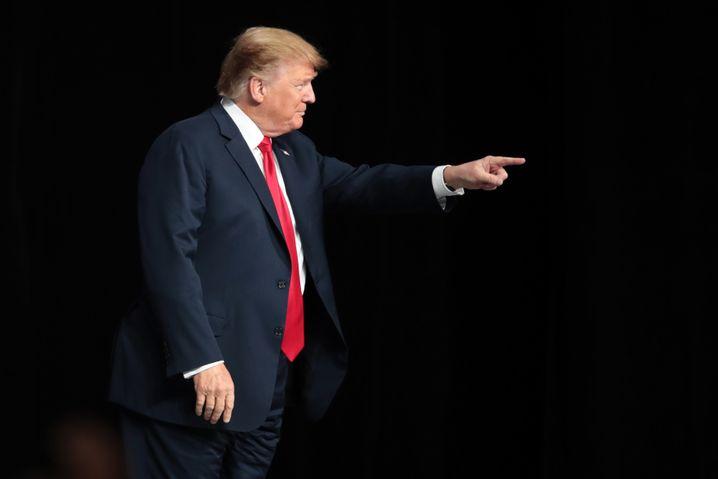 Donald Trump blockt ab