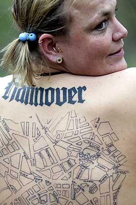 Am Kröpcke links abbiegen: Britta Oelschläger ist der erste lebende Stadtplan in Hannover