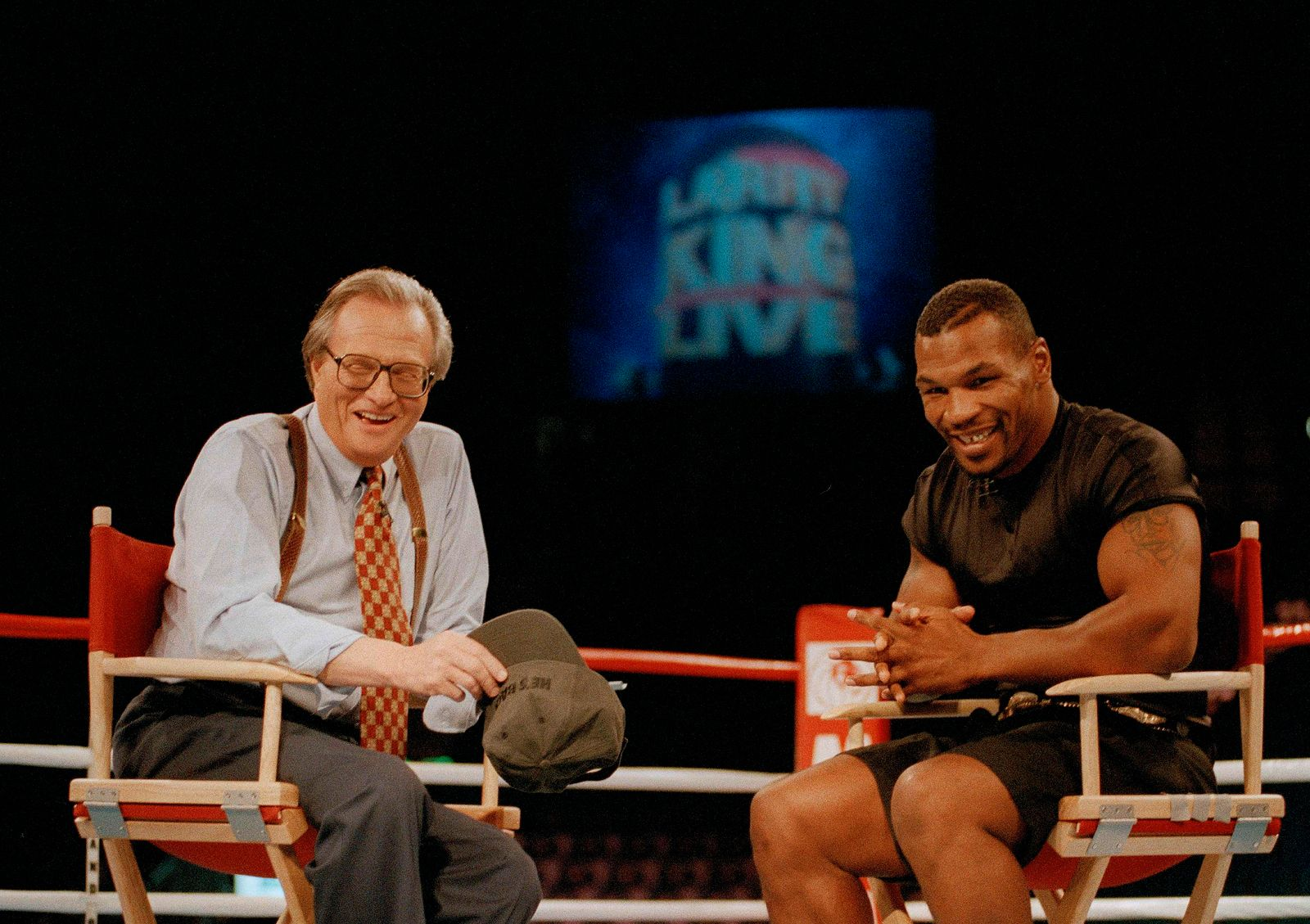 Mike Tyson,Larry King