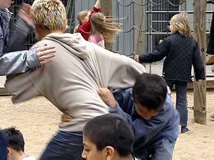 Rangelei auf dem Schulhof: Sozialtraining war offenbar Misserfolg