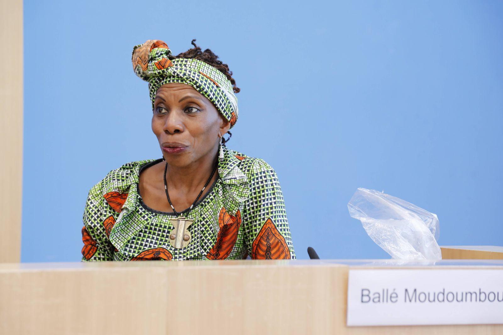 Marianne Balle Moudoumbou, Mitglied des Vertreter*innenrates der Bundeskonferenz der Migrant*innenorganisationen und Sp